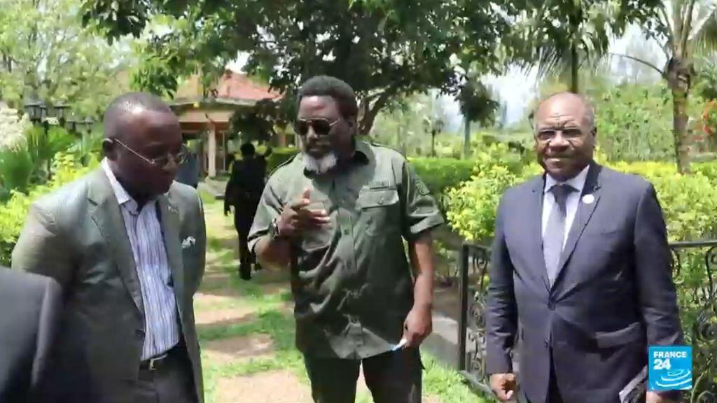 Le président congolais Joseph Kabila dans sa résidence privée, le 22 novembre 2018.