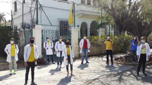MedicosColombianos-EmbajadaenCuba-Coronavirus-Covid19