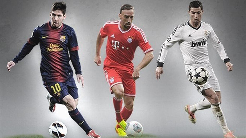 new arrival 82a90 dc98c Ribery, Messi and Ronaldo on Ballon d'Or shortlist