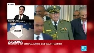 2019-12-23 11:07 Algeria's Military chef Ahmed Gaid Salah was the country's strongman, FRANCE 24's Moncef Ait Kaci reports