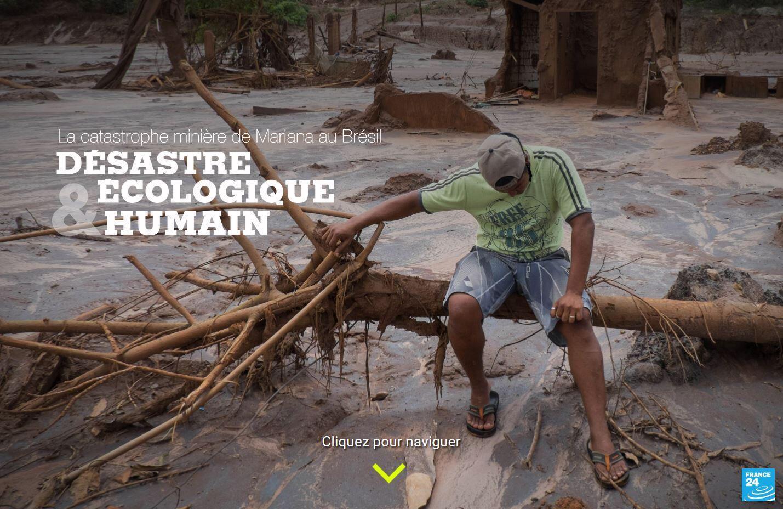 Fin 2015, la catastrophe de Mariana, à quelques centaines de kilomètres de Brumadinho, avait été, elle aussi, provoqué par l'exploitation minière