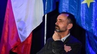 Robert Ménard, maire de Béziers, le 22 janvier 2020 à Sète