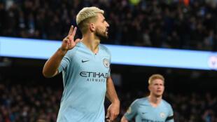L'Argentin Sergio Aguëro a inscrit un triplé lors de l'éclatante victoire de Manchester City face à Chelsea (6-0).