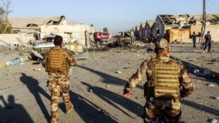 """العملية """"ثأر الشهداء"""" تأتي ردا على إعدام تنظيم """"الدولة الإسلامية"""" لرهائن كانوا في قبضته، عثرت القوات الأمنية على جثثهم الأسبوع الماضي على طريق بغداد-كركوك."""