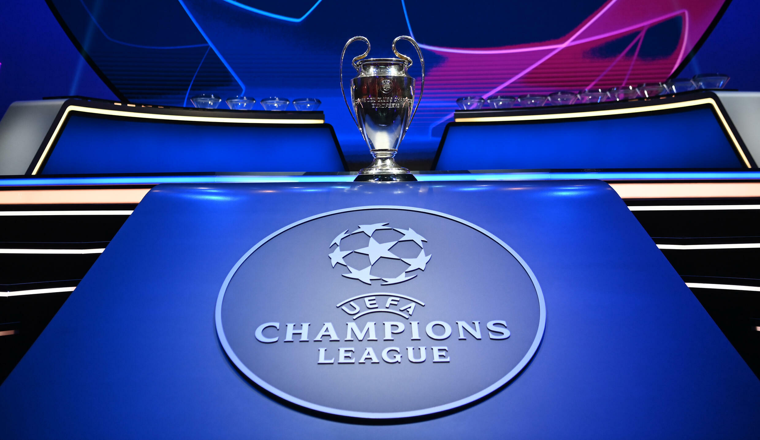 The Champions League group stage draw took place in Istanbul on Thursday
