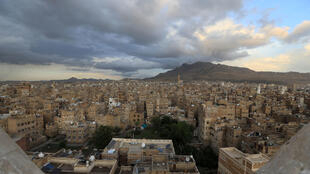 General view of the historical quarter of the Yemeni capital Sanaa, listed as one of the world heritage sites by UNESCO