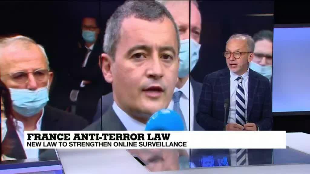 2021-04-28 12:05 New French bill to tighten online surveillance against Islamist attacks