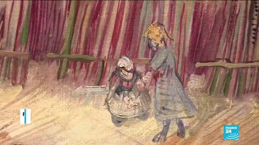 2021-02-25 13:16 Van Gogh : un rare tableau présenté au public pour la première fois