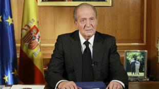 الملك الإسباني السابق خوان كارلوس.