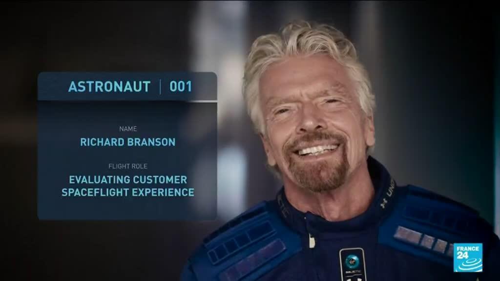 2021-07-02 16:13 Billionaire Richard Branson plans space trip ahead of rival Bezos