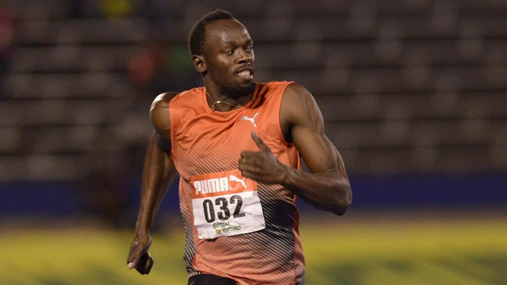 La star mondiale de l'athlétisme, le 1er juillet 2016, à Kingston.