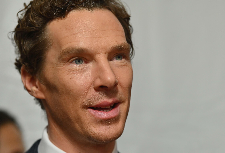 British actor Benedict Cumberbatch in October 2019 in New York