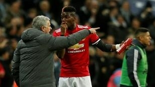 Manchester United manager Jose Mourinho insists midfielder Paul Pogba is happy at Old Trafford