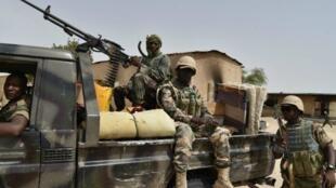عناصر من قوات الجيش النيجيري عام 2016