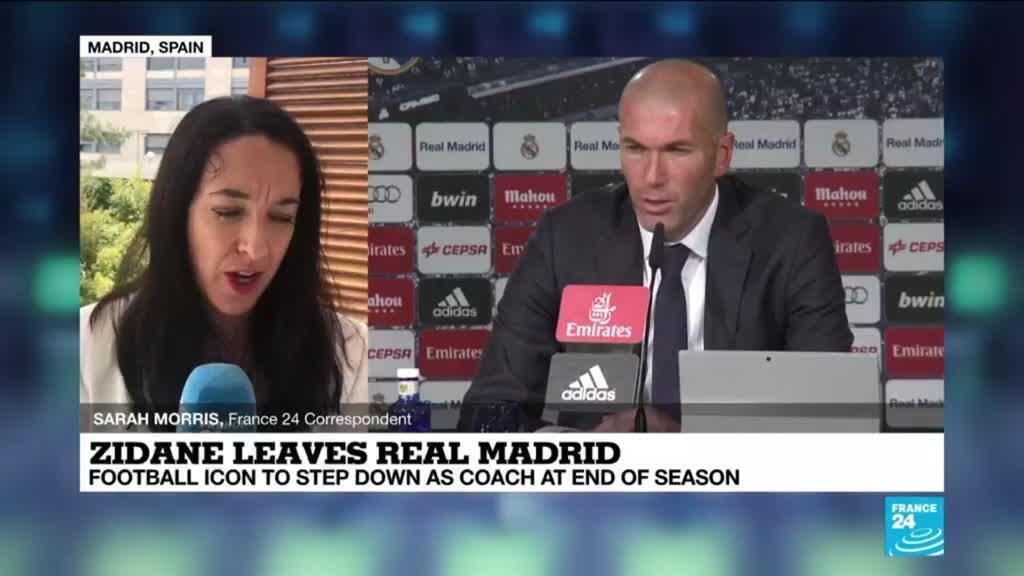 2021-05-27 14:19 Football icon Zidane resigns as Real Madrid coach