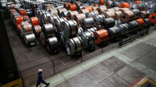Estados Unidos levantó la exención y la Unión Europea, México y Canadá pagarán aranceles de 25% y 10% a las importaciones de acero y aluminio. Mayo 22 de 2018.