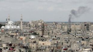 مشهد عام من مدينة حمص