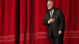 Le chanteur espagnol d'opéra Placido Domingo au Metropolitan Opera de NEw York, le 24 novembre 2018.