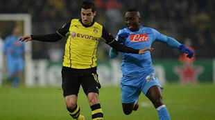 Le milieu arménien du Borussia Dortmund, Henrikh Mkhitaryan