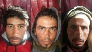 المتهمون بقتل سائحتين في المغرب.