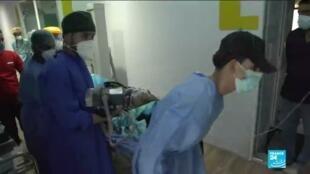 2021-03-23 17:07 Covid-19 en Irak : face à une nouvelle vague, les hôpitaux du pays saturés
