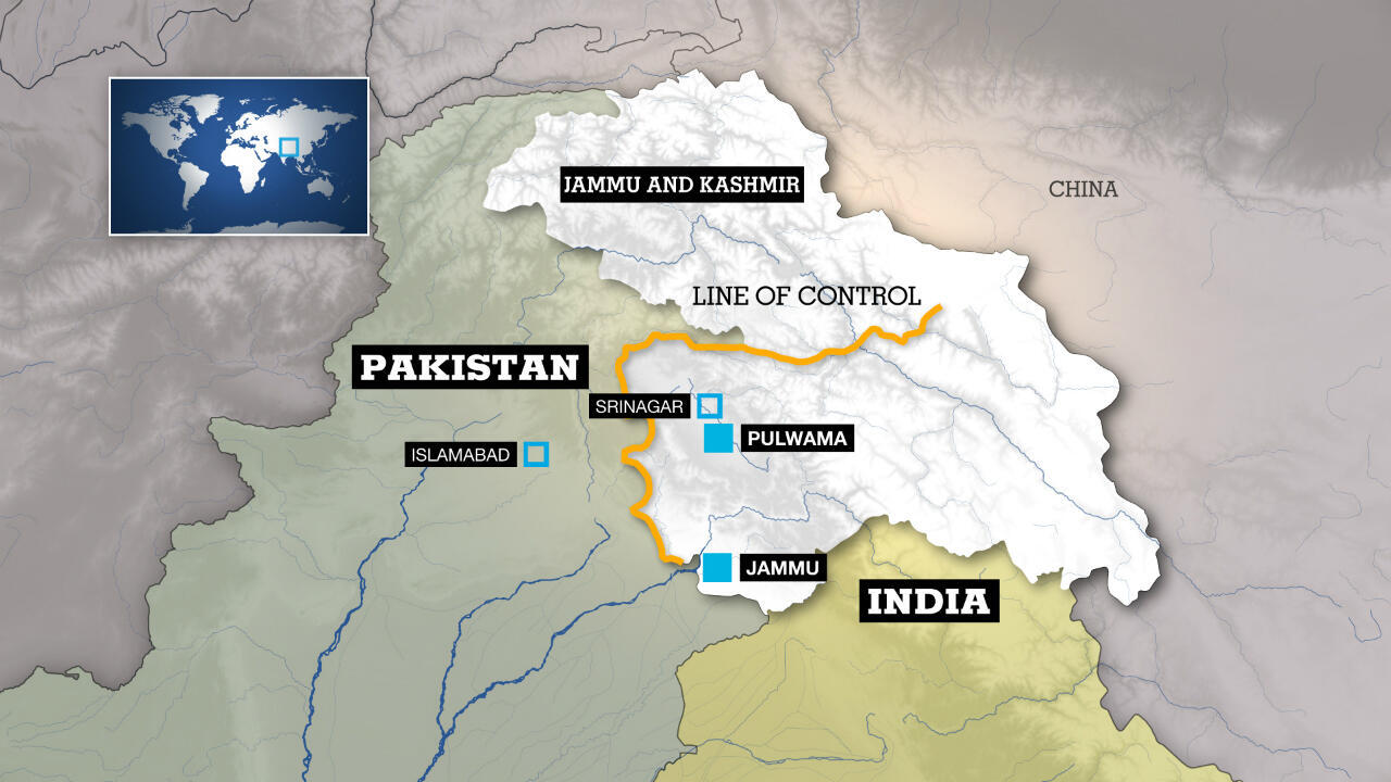 Jammu and Kashmir territories are at the heart of tensions between India and Pakistan