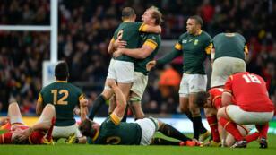 L'Afrique du Sud a fait la différence dans les dix dernières minutes face au Pays de Galles.