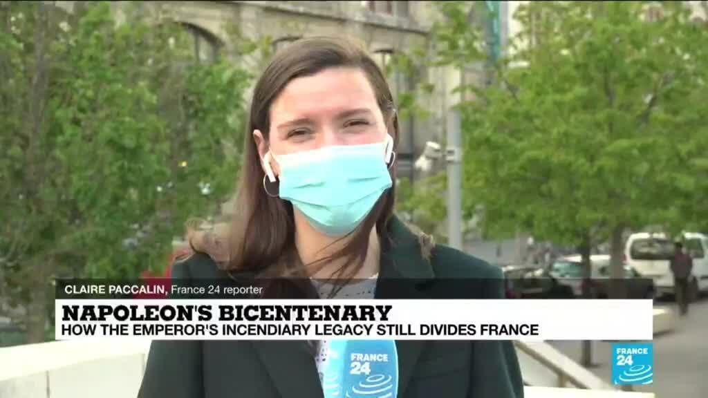 2021-05-05 14:17 Macron negotiates politically charged Napoleon commemoration