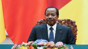 Le président camerounais Paul Biya.