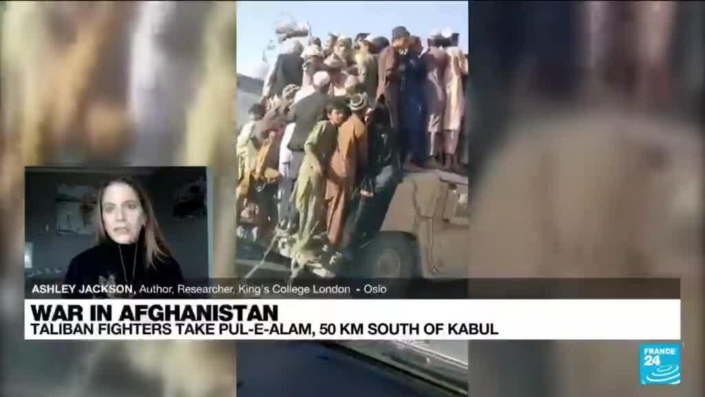2021-08-13 17:02 Taliban races to take full control of Afghanistan, inching closer to Kabul