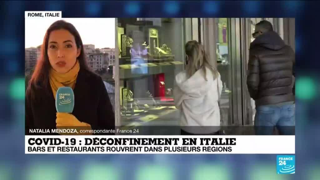 2021-02-01 10:07 L'Italie assouplit ses restrictions anti-Covid, le Colisée rouvre au public