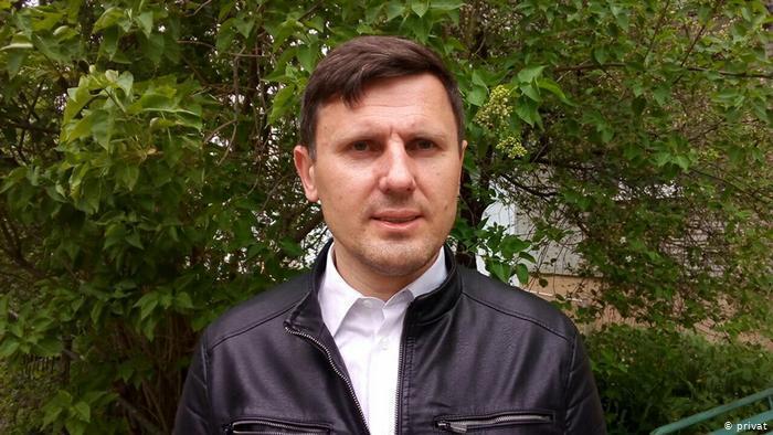 Le journaliste Alexander Burakov, correspondant de la Deutsche Welle en Biélorussie.