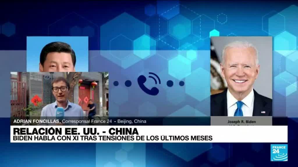2021-09-10 14:38 Informe desde Beijing: Biden y Xi intentan acercarse para abordar asuntos de interés mutuo