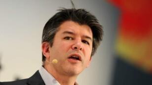 Travis Kalanick, le cofondateur de la société de VTC Uber, lors d'une conférence à Munich, le 18 janvier 2015.