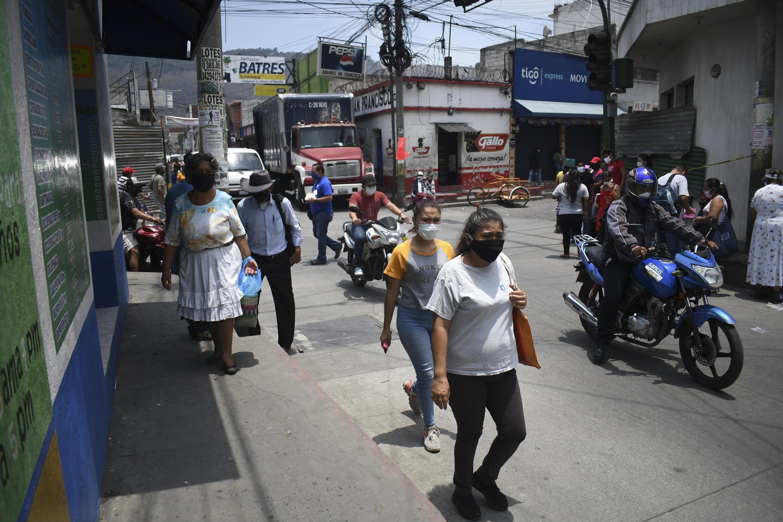 Amatitlan, au Guatemala, le 13 avril 2020.