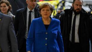 La chancelière Angela Merkel a trouvé un terrain d'entente avec le SPD de Martin Schulz.