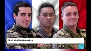 2020-12-29 07:31 Trois soldats français tués au Mali