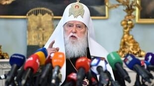 Patriarch Filaret told reporters; 'There was an agreement that I continue to govern the church in Ukraine together with Yepifaniy'
