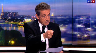 Invité sur TF1, Nicolas Sarkozy a redit son innoncence alors qu'il est soupçonné d'avoir bénéficié d'un financement libyen pour sa campagne de 2007.