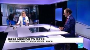 2020-07-30 10:12 NASA mission to Mars set to blast off