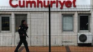 """مبنى صحيفة """"جمهورييت"""" التركية"""