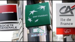 Les comptes de la BNP, Société Générale, BPCE, du Crédit Agricole et du Crédit mutuel ont été analysés.