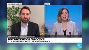2021-01-29 14:01 EU, AstraZeneca publish redacted contract in vaccine dispute