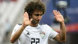 Egypt's football federation on Wednesday banned midfielder Amr Warda from playing in any further matches at the African Cup of Nations over mounting sexual harrasment allegations