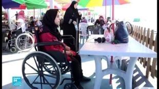 ذوو الاحتياجات الخاصة في غزة.