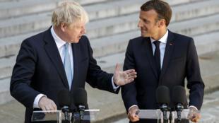 Le président Emmanuel Macron a reçu le Premier ministre britannique Boris Johnson, jeudi 22 août, à Paris.