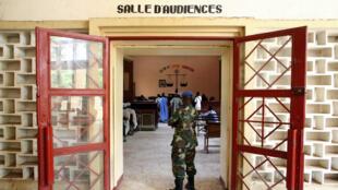 Une salle d'audience du tribunal de N'Djaména, au Tchad.