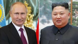 """Après un sommet infructueux avec le président américain Donald Trump, Kim Jong-un va se rendre """"prochainement"""" en Russie pour y rencontrer Vladimir Poutine."""