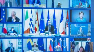 """Les 19 pays de la zone euro n'ont pas réussi à se mettre d'accord sur l'instauration des """"corona bonds"""", présentés comme un outil de solidarité financière à l'heure de la pandémie."""