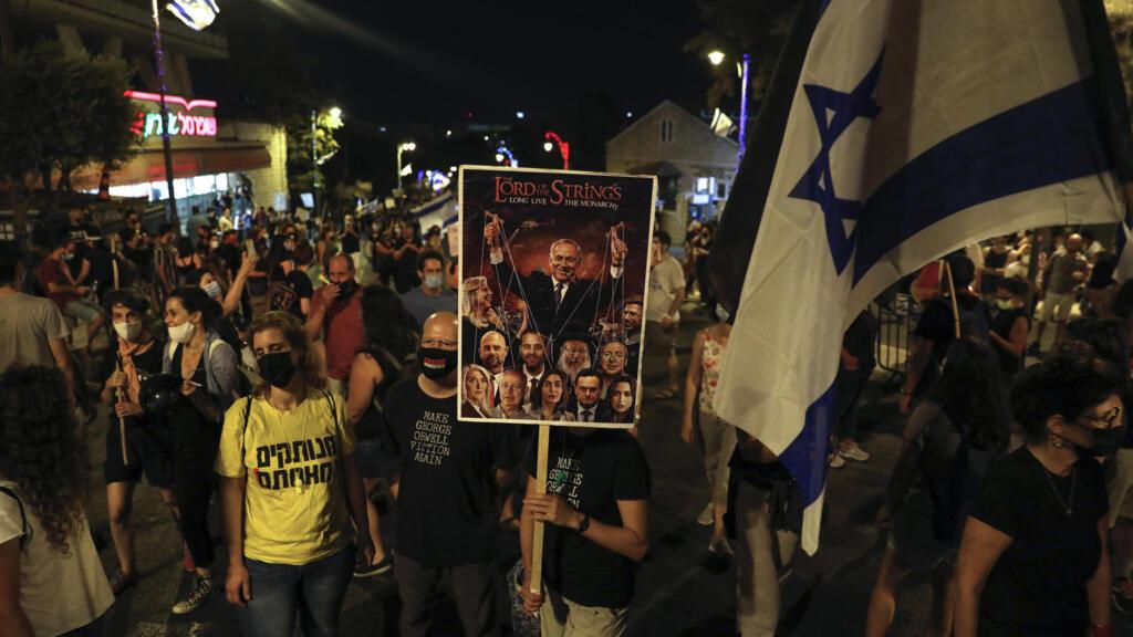 À Jérusalem, des manifestations anti-Netanyahu malgré le reconfinement